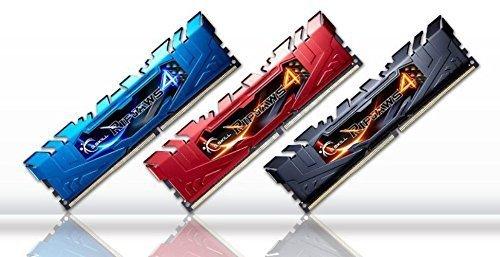G.Skill 16GB DDR4-3333 Quad-Kit, czerwony F4-3333C16Q-16GRRD, Ripjaws 4