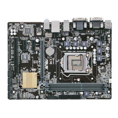 ASUS H110M-C D3 Mainboard, 2x DDR3 DIMM, Sockel 1151, 4x SATA 3, 1x DVI-D, 1x VGA