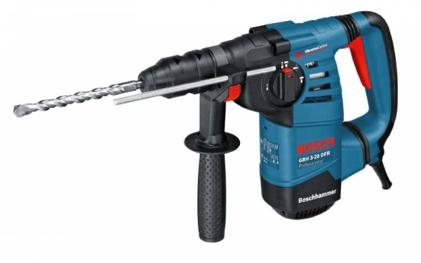 Bosch GBH 3-28 DFR Professional niebieski, Walizka