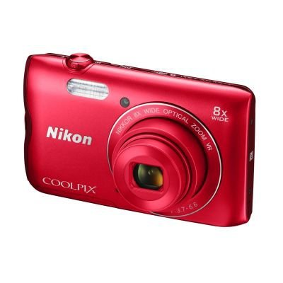 Nikon COOLPIX A300 red ornament