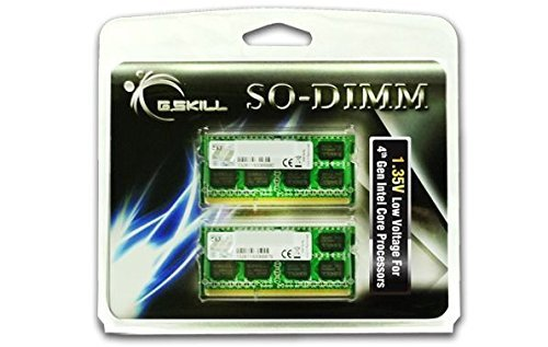 G.Skill SO-DIMM 16 GB DDR3L-1600 Kit,F3-1600C11D-16GSL