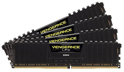 Corsair  16GB DDR4-3400 Quad-Kit, czarny, CMK16GX4M4B3400C16, Vengeance LPX