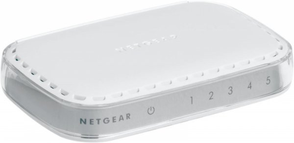 Netgear SOHO Ethernet 5-Port Gigabit Switch GS605