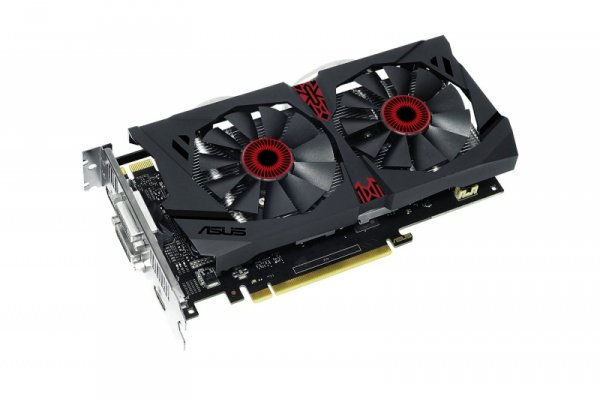 ASUS STRIX-GTX950-DC2OC-2GD5-GAMING  GeForce GTX 950, 2GB GDDR5, 2x DVI, HDMI, DisplayPort