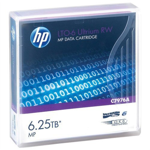 HP LTO6 Medium 6250GB