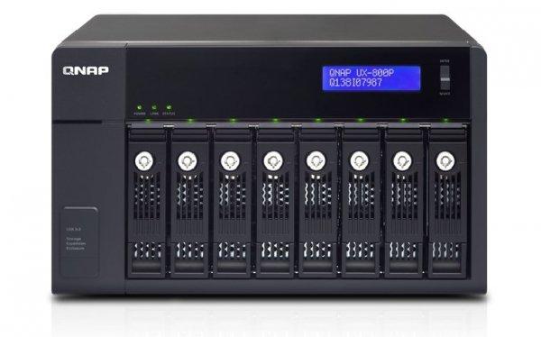 """Qnap UX-800P 8x3,5"""", NAS"""