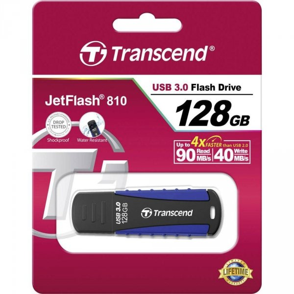 Transcend JetFlash 810 128GB USB 3.0