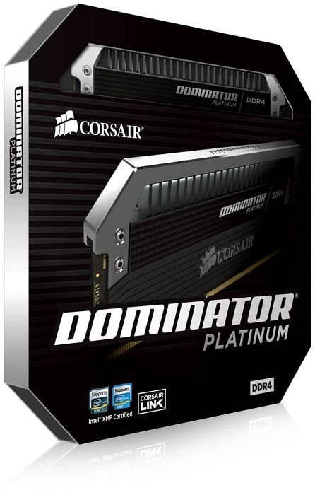 Corsair Dominator Platinum 64GB DDR4 Kit 3200 C16 (8x8GB)
