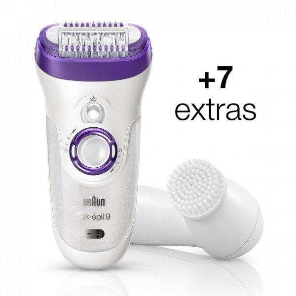 Braun Epil 9 Skin 9-579 wet & dry + Brush