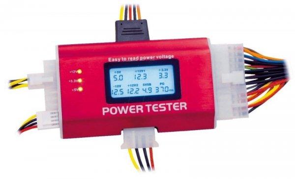 Delock PSU Tester III - tester zasilaczy