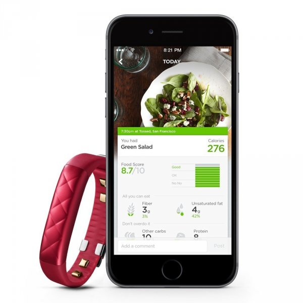 Jawbone UP3 Ruby Cross