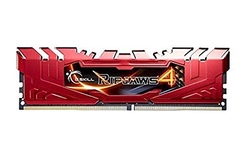 G.Skill 8GB DDR4-2666 Kit, czerwony F4-2666C15D-8GRR, Ripjaws 4