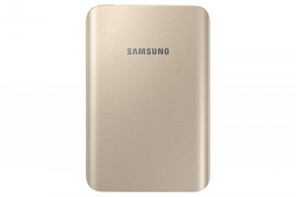 Samsung Power Bank 3.000 mAh 1,5A Micro-USB-/USB-Anschluss złoty