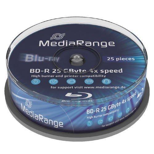 MediaRange BD-R 25GB 4x, 25 szt.