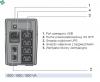 NPE-0650 UPS NETYS PE 650VA/360W 230V/AVR/4XIEC,USB, LED