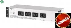 LEGRAND Keor PDU 800VA/480W, 8 x IEC C13 - Zasilacz UPS i listwa PDU do montażu w szafie rack w jednym, 2U (310331)