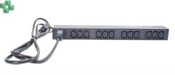 AP9565 Rack PDU, Basic, 1U, 16A, 208/230V, (12)C13