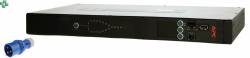 AP4422 Przełącznik źródła zasilania Rack ATS, 230V, 16A, (2) IEC 309 in, (1) IEC 309 out