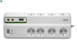 PMF83VT-FR Listwa przeciwprzepięciowa z ochroną sieci telefonicznej i kablowej - APC Performance SurgeArrest 8 outlets with Phone & Coax Protection 230V France