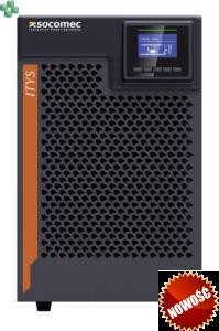 ITY3-TW010B Zasilacz UPS ITYS 3 1000VA/1000W, VFI On-Line, Tower, baterie wewnętrzne, LCD, 1f/1f