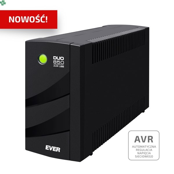 UPS EVER DUO 850VA/550W AVR USB