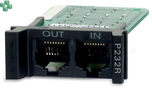 P232R APC Surge Protection Module for RS232, Replaceable, 1U, for use with PRM4 or PRM24 Rackmount Chassis