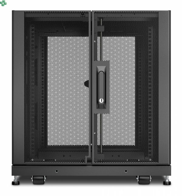 APC NetShelter SX 12U Server Rack Enclosure 600mm x 900mm w/ Sides Black AR3003