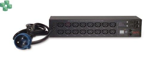 AP7922B Zarządzany moduł dystrybucji zasilania PDU do montażu w szafie, 1U, 16 A, 208/230 V, (8)C13