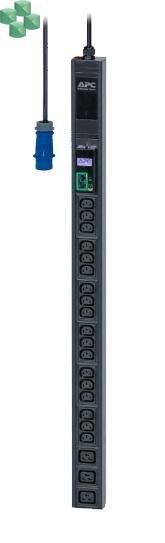 Easy PDU, Metered, ZeroU, 16A, 230V, (18) C13 & (3 )C19; IEC309 (EPDU1116M)