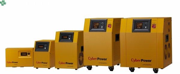 CPS1000E Zasilacz UPS CyberPower 1000VA/700W, długie czasy podtrzymania, sinus na wyjściu Baterie zewnętrzne do kupienia osobno.