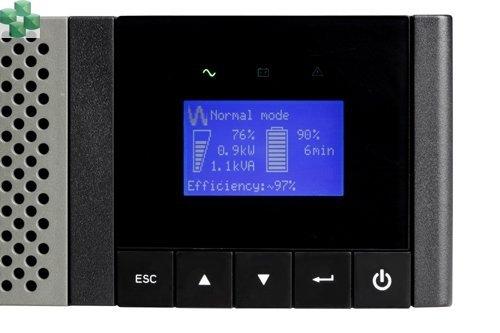 5PX2200iRTN Zasilacz awaryjny Eaton 5PX 2200i RT2U Netpack (z kartą sieciową)