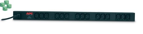 AP9568 Podstawowa listwa zasilająca PDU do montażu w szafie, zero U, 10 A, 230 V, (15)C13