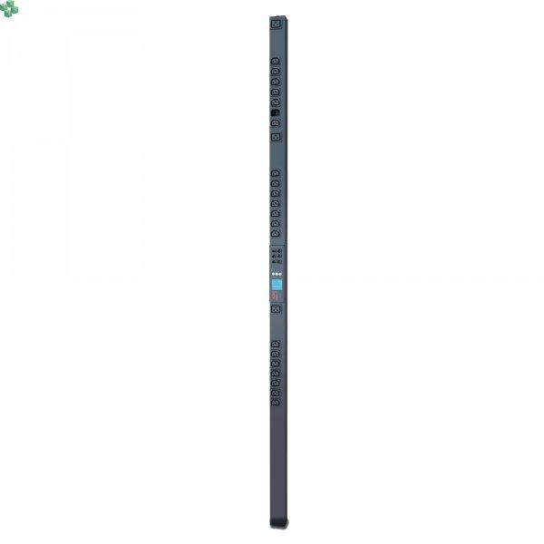 AP8453 Listwa zasilająca PDU do montażu w szafie 2G, monitorowana z dokładnością do jednego gniazda, Zero U, 32 A, 230 V, (21) C13 i (3) C19