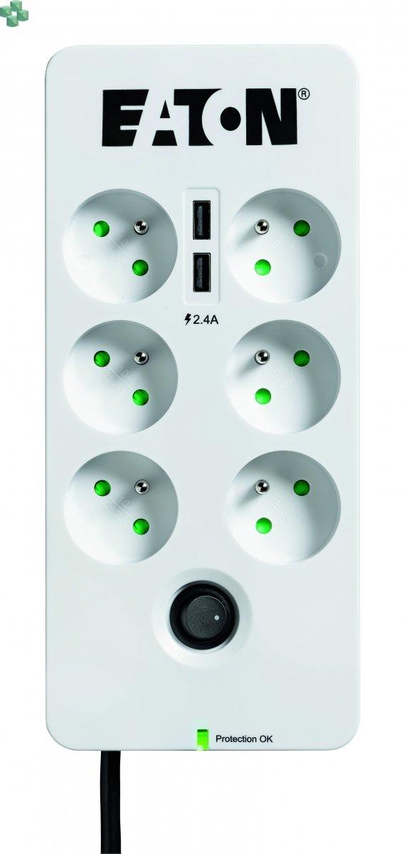 Eaton Protection Box 6 USB FR (2 x USB port)