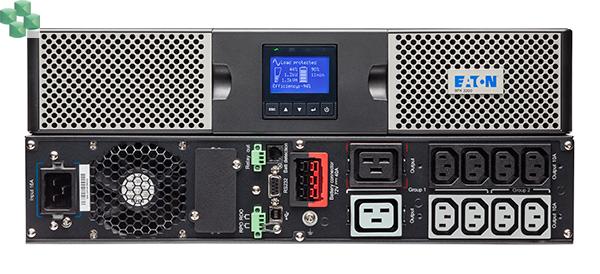 9PX3000IRTN Eaton 9PX 3000W RT2U (wieża/stelaż 2U) z kartą sieciową