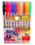 Długopis brokat NADRUK 10 kolorów