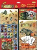 Naklejki Mega Stickers Dinozaury