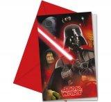 Zaproszenia z kopertą Star Wars