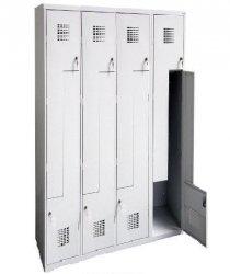 Szafa Ubraniowa Sul 34 Ośmiodrzwiowa Szerokość Modułu 30cm - Różne Rodzaje i Kolory
