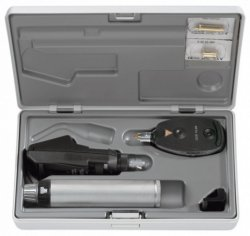Zestaw Okulistyczny Heine C-145 Oftalmoskop BETA 200 i Skiaskop BETA 200 - Różne Rodzaje