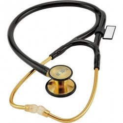 Stetoskop MDF 797DDK 22K Gold ER Premier z Podwójną Głowicą dla Dzieci i dla Dorosłych