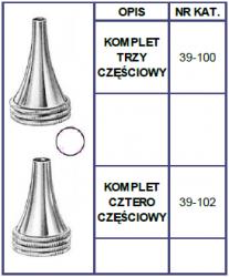 Wzierniki Uszne Hartmann - Komplet 3 lub 4szt.