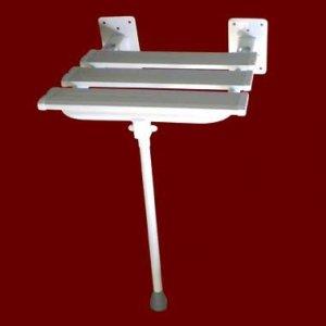 Krzesełko Prysznicowe Uchylne 2 z Nogą