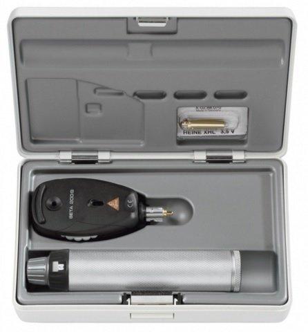 Oftalmoskop Heine Seria Beta 200 S z Twardym Etui - Różne Rodzaje