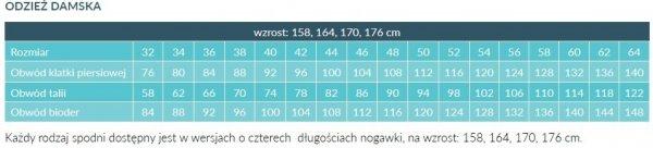 Fartuch Damski 0213 - Różne Rodzaje
