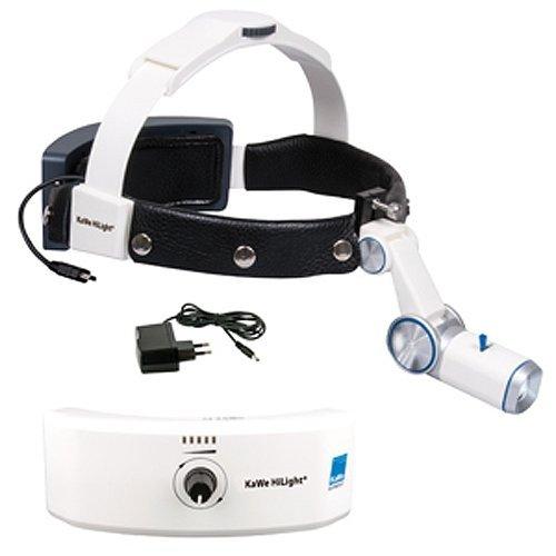 Lampa Czołowa KaWe H-800 z Akumulatorem na Czepcu Profesjonalnym z Ładowarką Sieciową