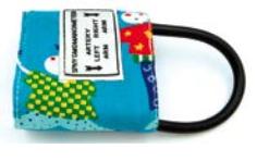 Mankiet Pediatryczny do Ciśnieniomierzy Zegarowych Jednodrenowy - Różne Rozmiary