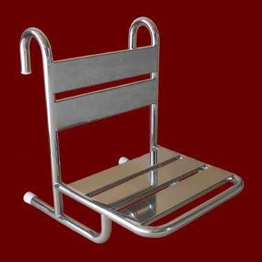 Krzesełko Prysznicowe Stałe Zawieszane na Poręczy