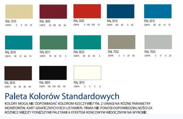 Szafa Kartotekowa na Karty Formatu A4 Pięcioszufladowa Jednorzędowa Szk301/5 - Różne Rodzaje i Kolory