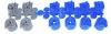 Zraszacz Rotacyjny PGP 04 ULTRA Hunter 14m 12 dysz